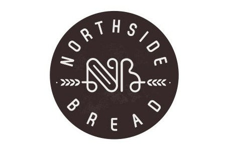Outline of the initials of the brand shaped like a bread