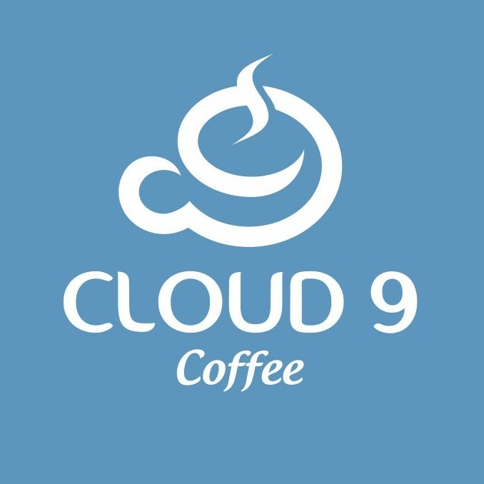 cloud 9 coffee brand logo