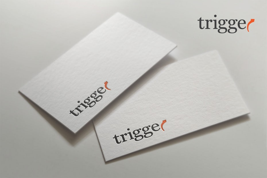 trigger business card