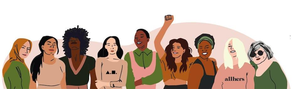 inclusive audience illustration