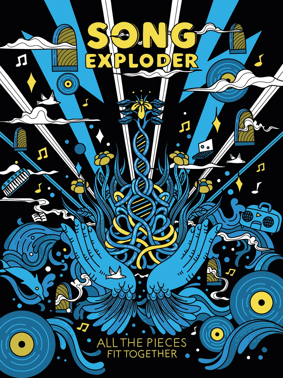 """Final Song Exploder poster by <a href=""""/profiles/elizaosmo"""">Eliza Osmo</a>"""