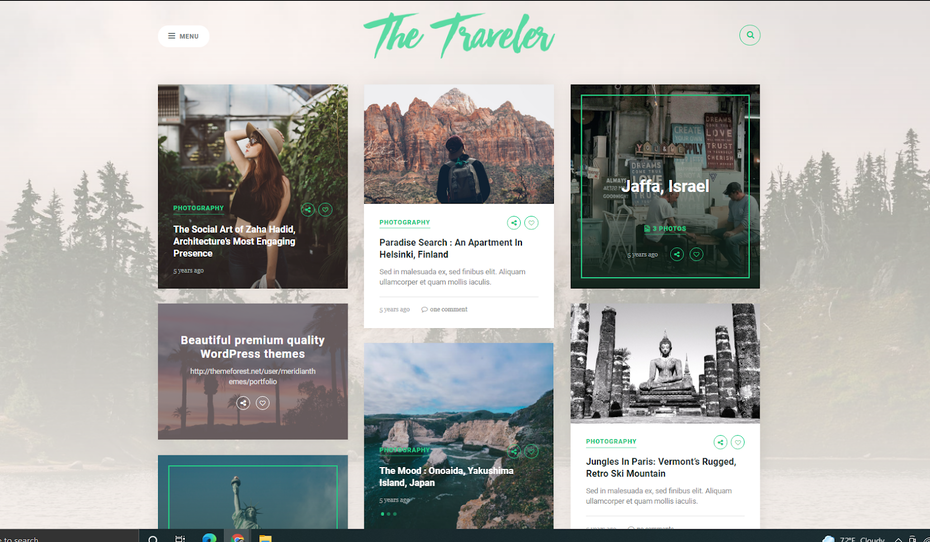 The Traveler screenshot
