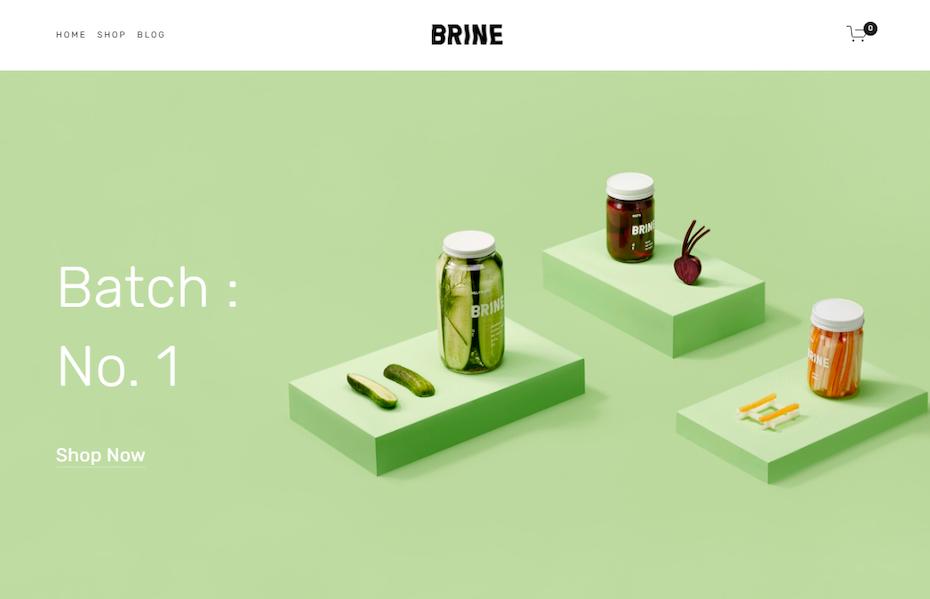 screenshot of Brine