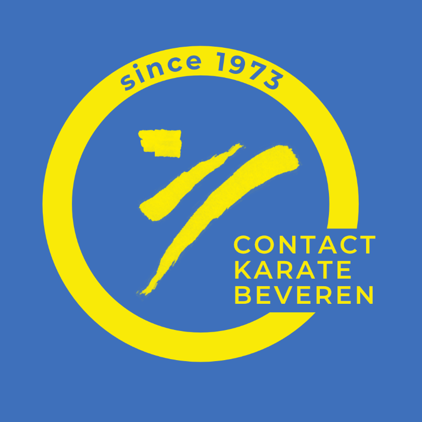 yellow and blue logo of an abstract body in motion
