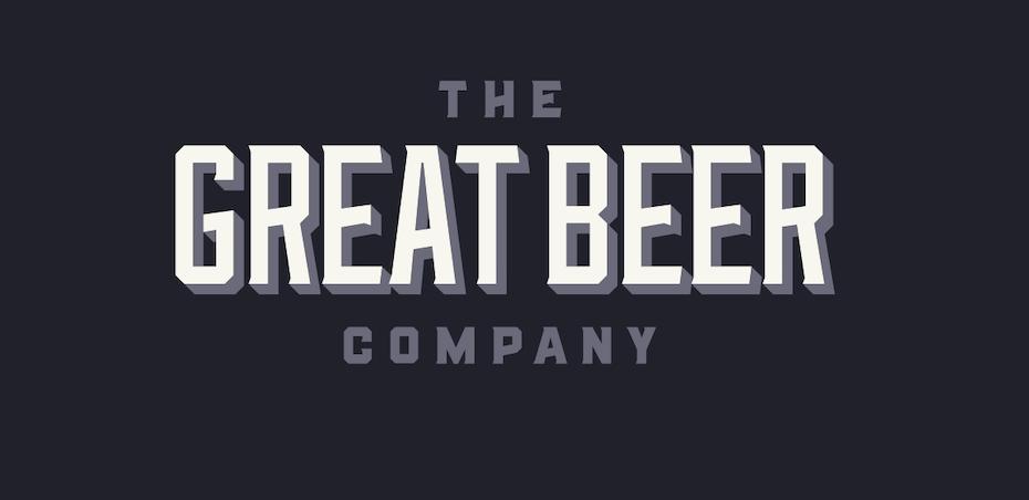 Vintage monogram logo design