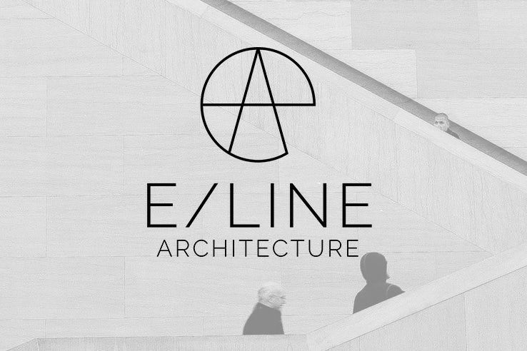 Geometric monogram logo design