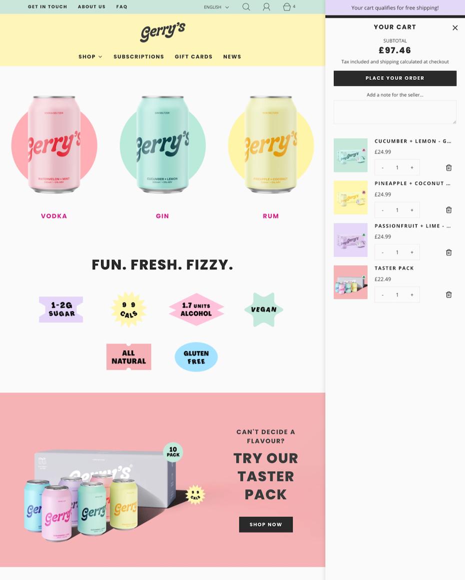 Fresh Shopify Theme
