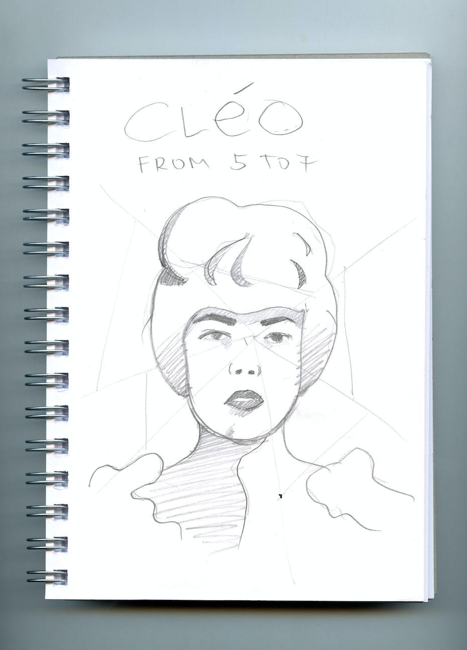 60s posters sketches