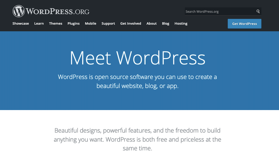 Wix alternative: WordPress