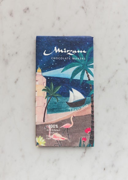Second illustrative chocolate packaging design via Mirzam