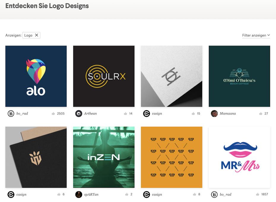 logodesigns auf 99designs