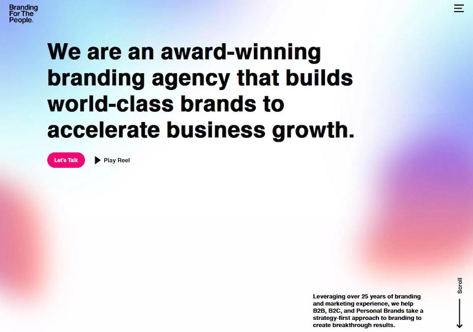 Importance of website branding.