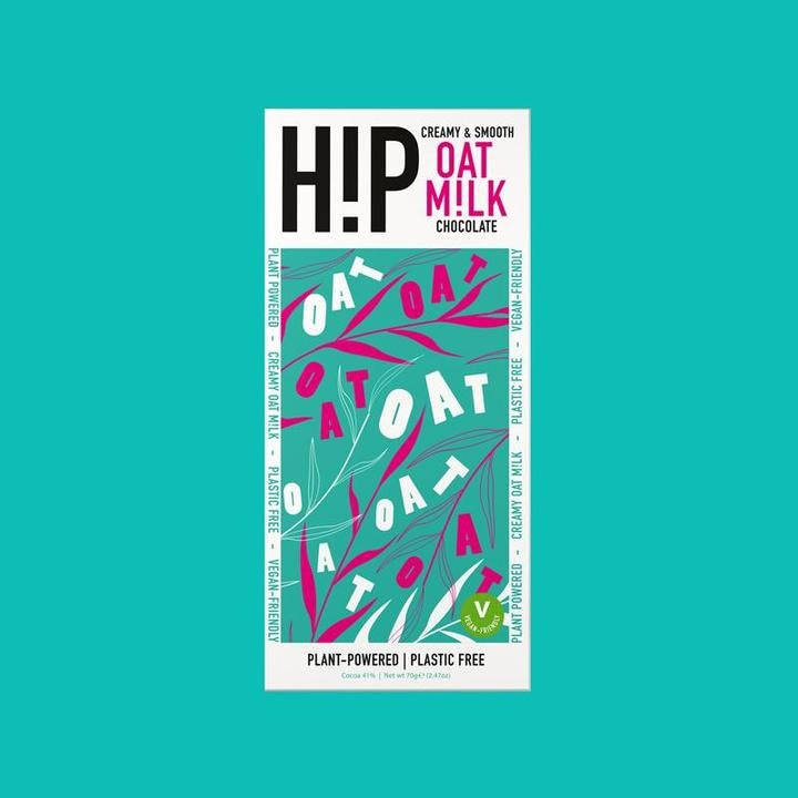 Hip's striking messaging via Hip Chocolate