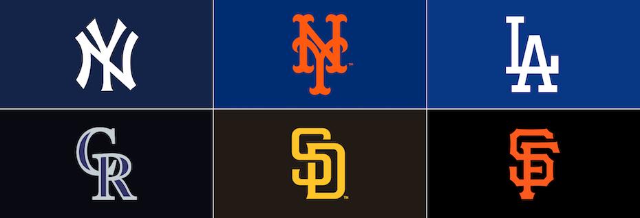 Major League Baseball cap insignia