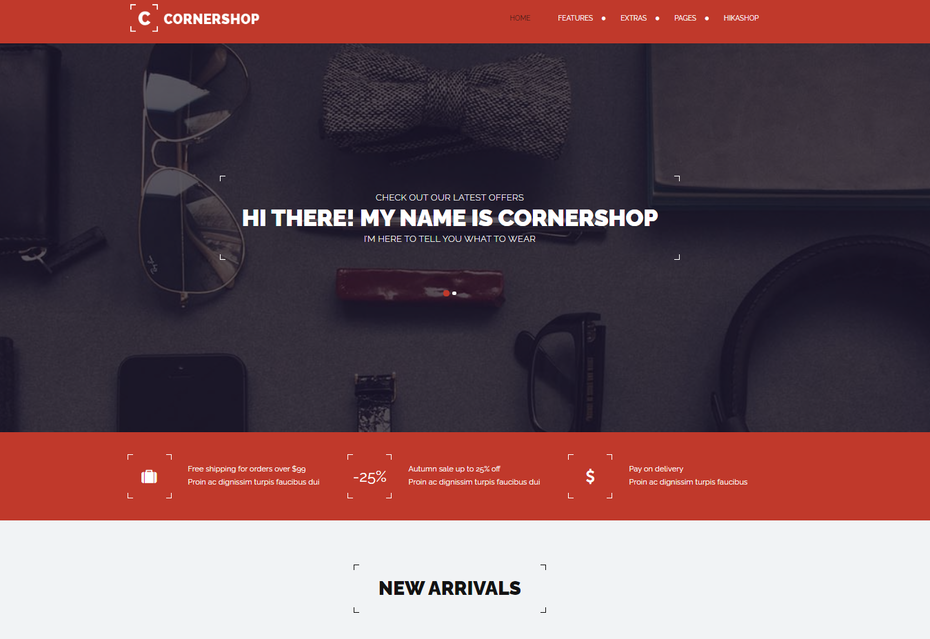 Screenshot of Corner Shop