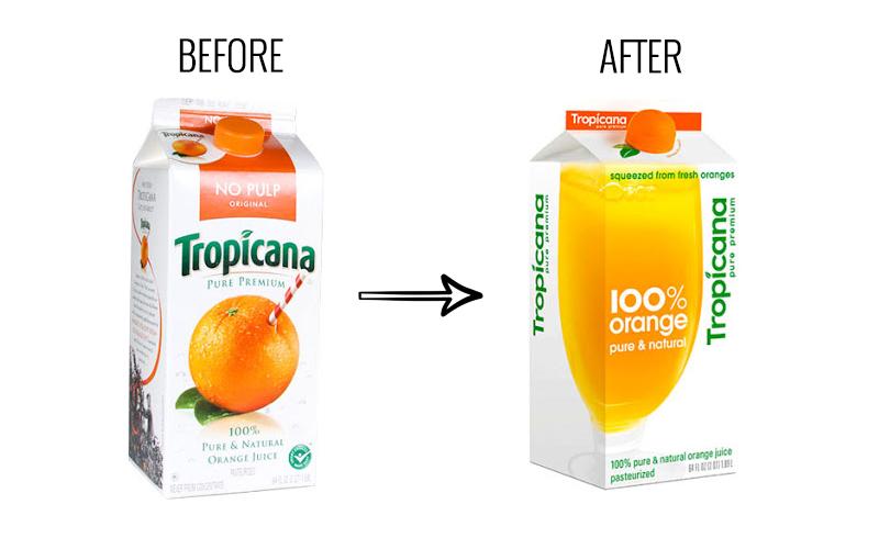 Tropicana's rebrand