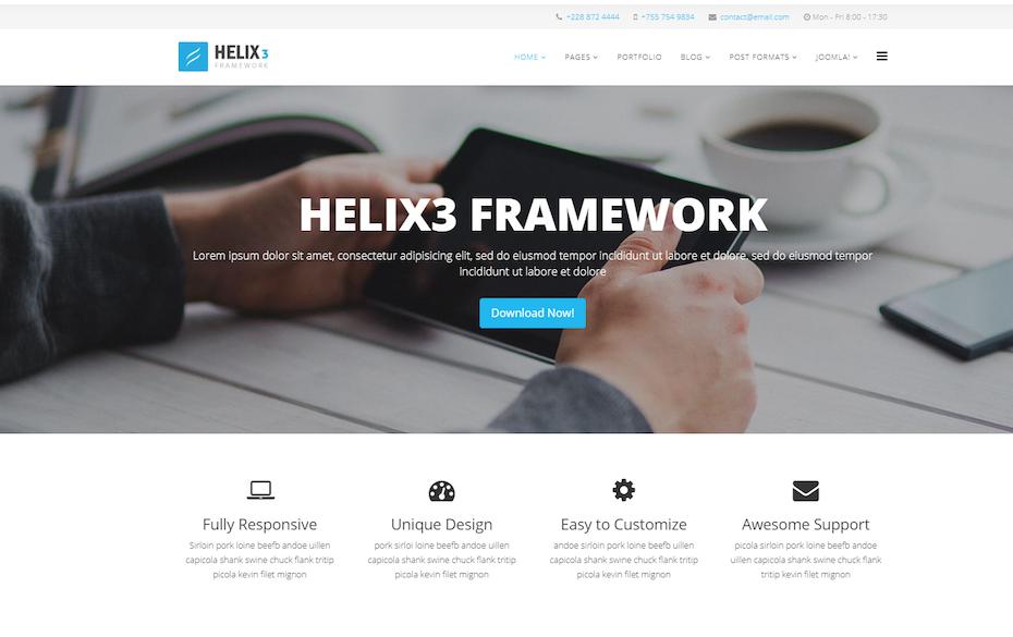 screenshot of Helix3