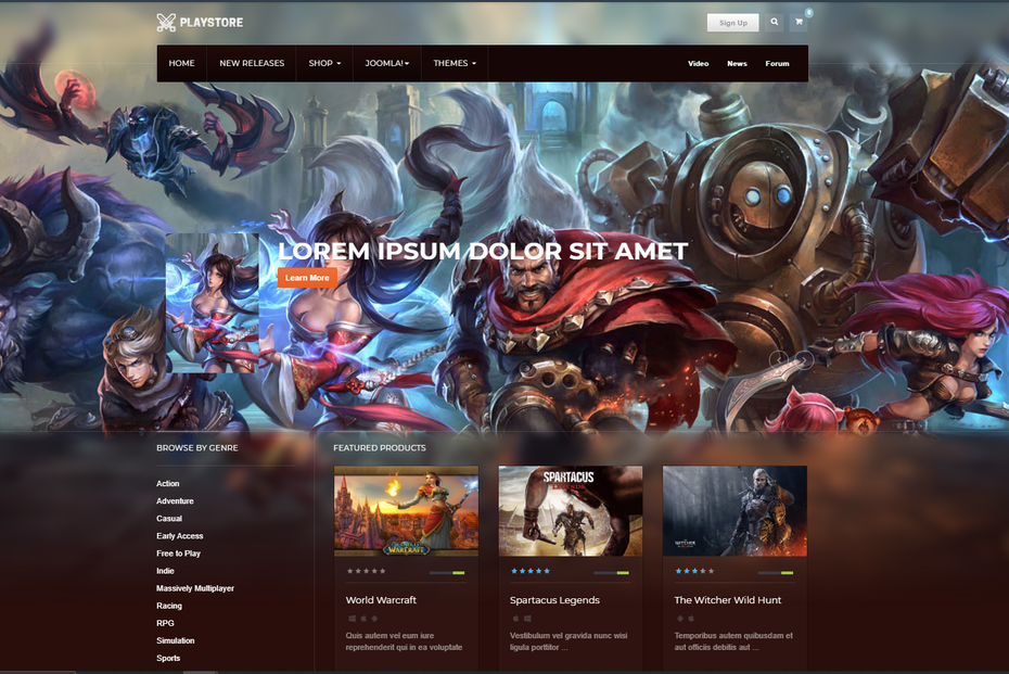 screenshot of JA Playstore