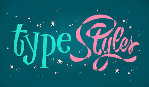 Deciphering lettering styles, one historical font family at a time
