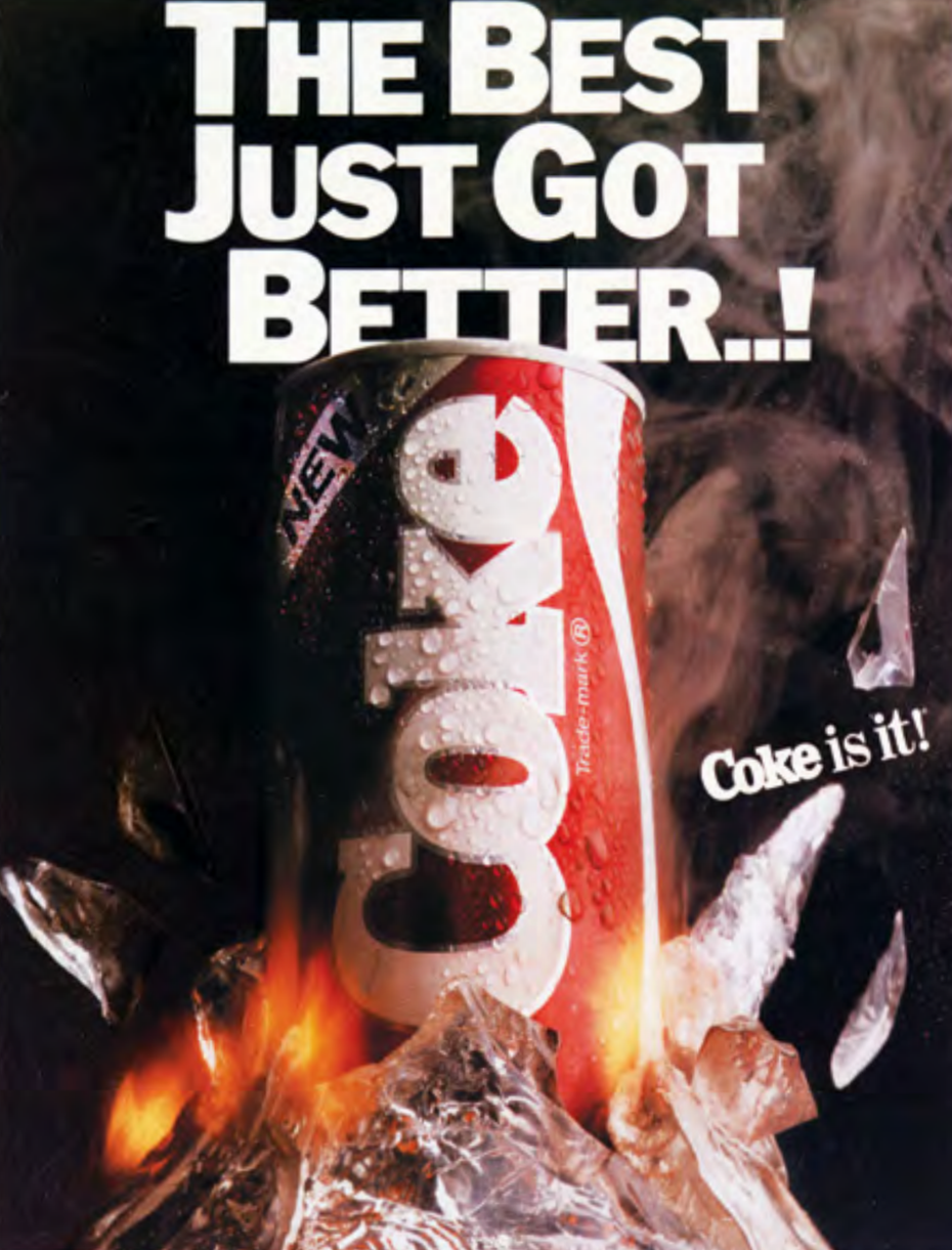 new coca-cola