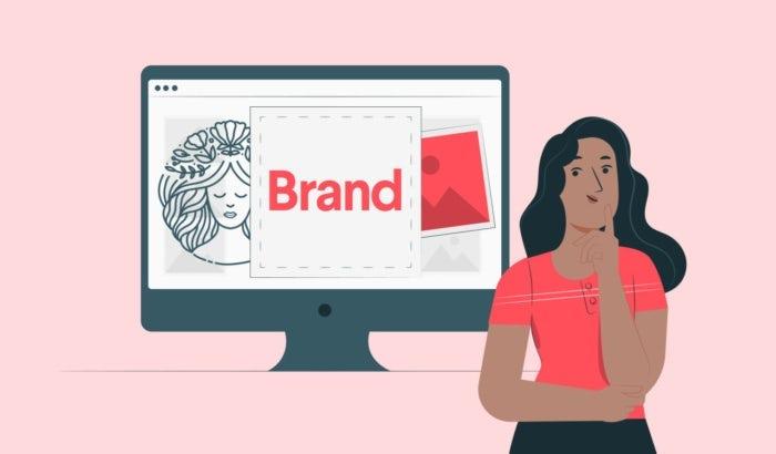 abstract branding illustration