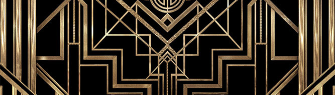 Art deco a strong striking style for graphic design designer blog