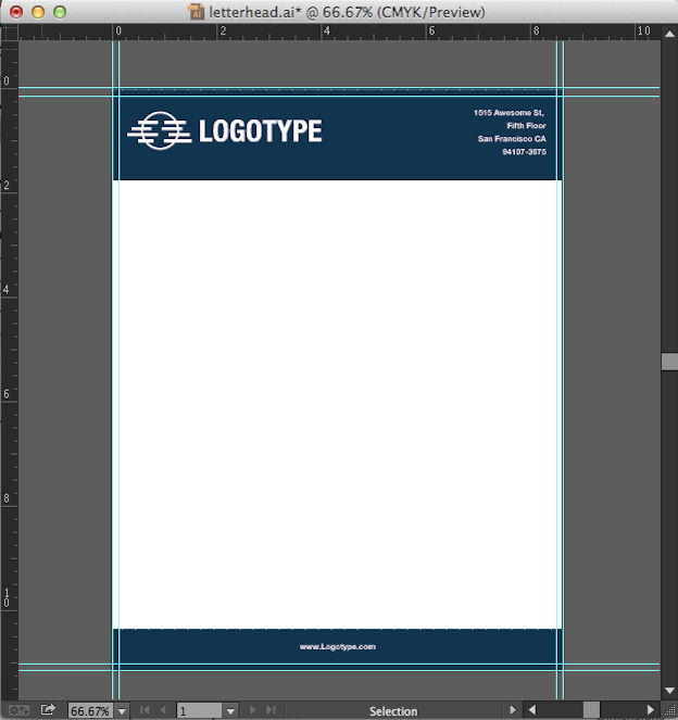 how to create letterhead template in word