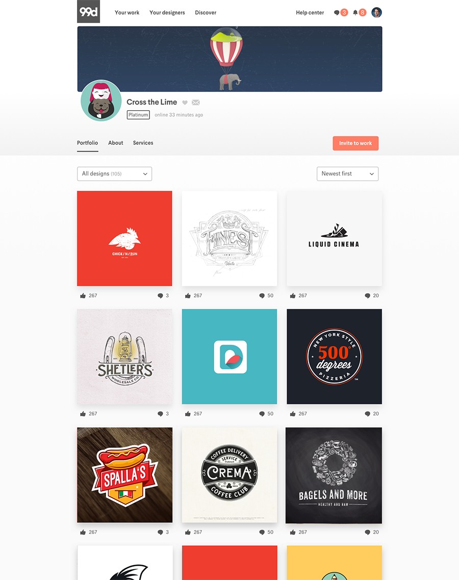 Rebrand Yourself A Quick Guide To 99designs Designer Profile