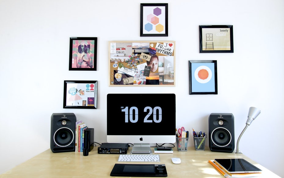 the art of workspace organization 99designs