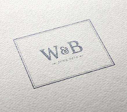 What is a wedding logo and why do I need one 99designs