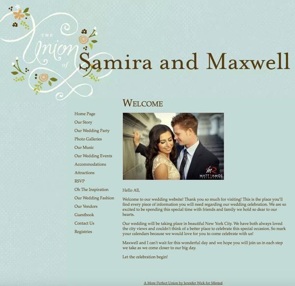 Wedding Website Templates Usually Have E For All The Standard Details Like Time And Date Of Ceremony Nearby Accommodations Things Guests