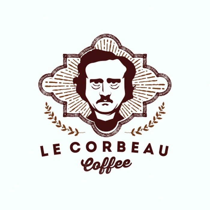 Le Corbeau Coffee logo by mark992