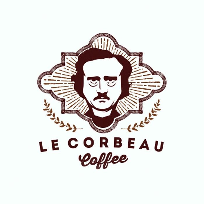 Le Corbeau Coffee logo by mark992