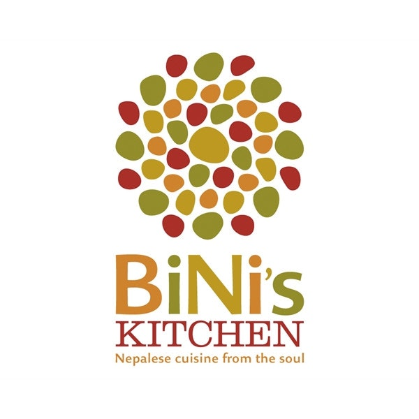 Bini's Kitchen logo by Mazzarello Media & Arts