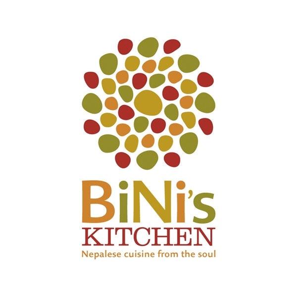 Bini's Kitchen logo by Mazzarello Media & Arts