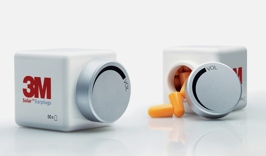 3m earplugs product packaging