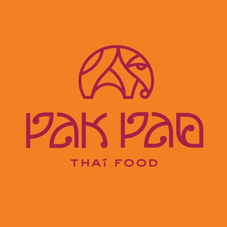 Thai food logo