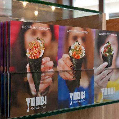 Yoobi sushi restaurant design