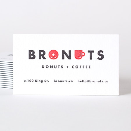 fun coffee and donut shop logo