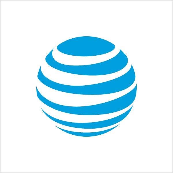 att blue logo