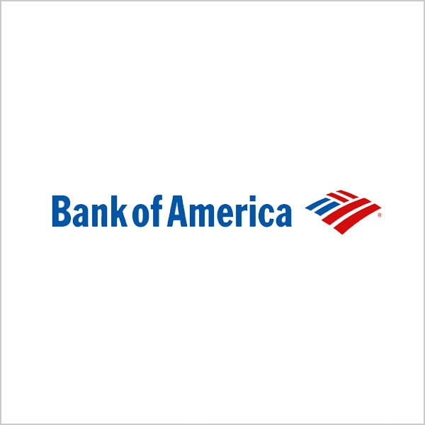 bank of america blue red logo