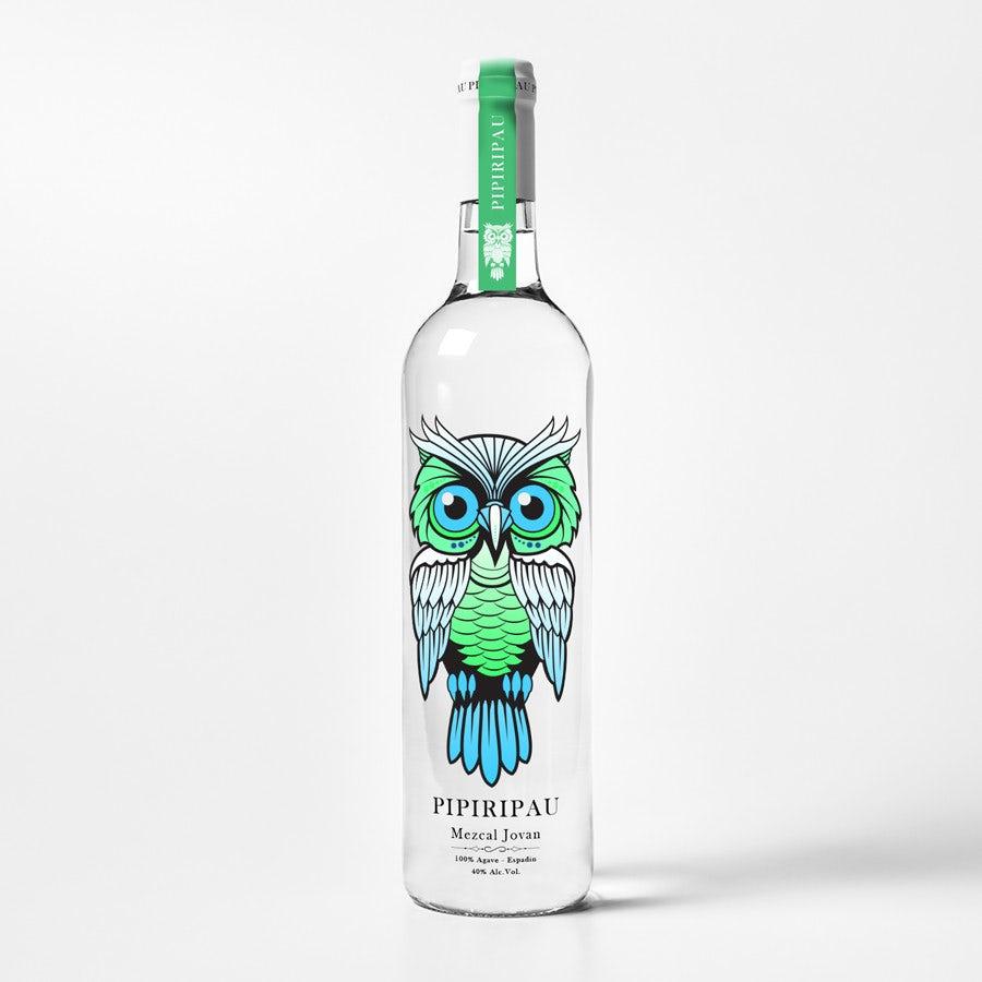 owl bottle design