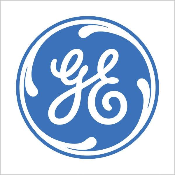 GE blue logo