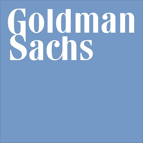 goldman sachs blue logo