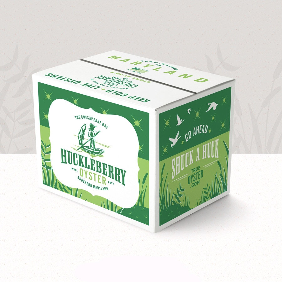 huckleberry oyster box design