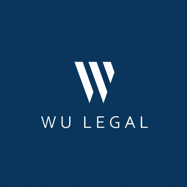 wu legal blue logo