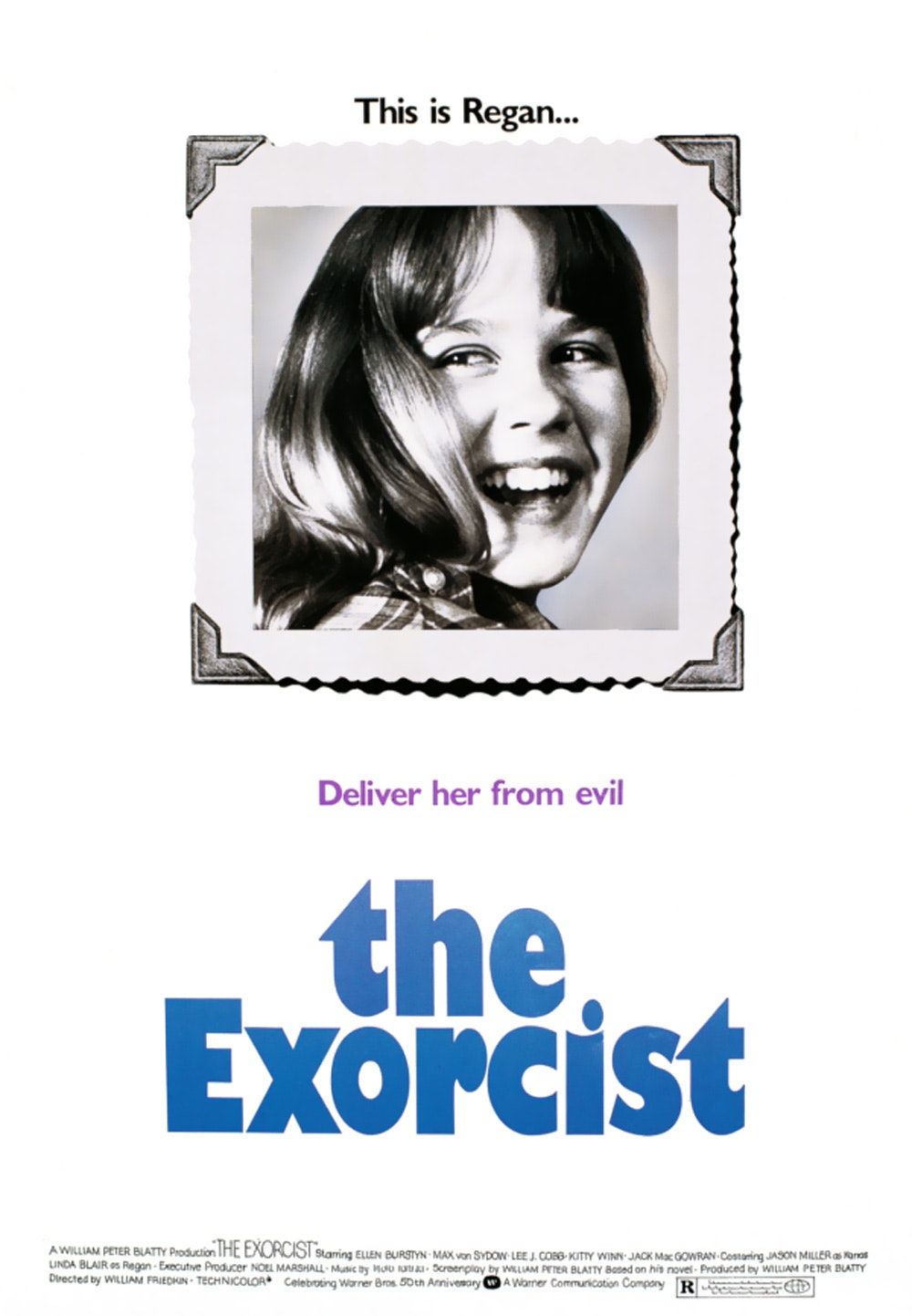 rejected exorcist poster