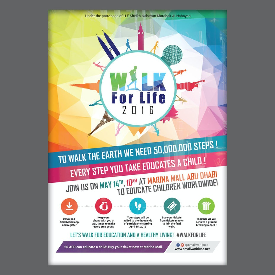 Image File Formats Everything Youve Ever Wanted To Know 99designs Basic Dance Steps Step Diagrams Walk For Life Poster By Adwindesign Salam H