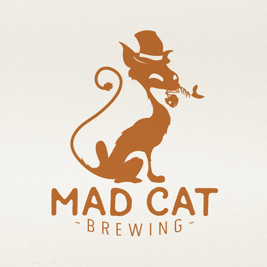 mad cat brewing logo