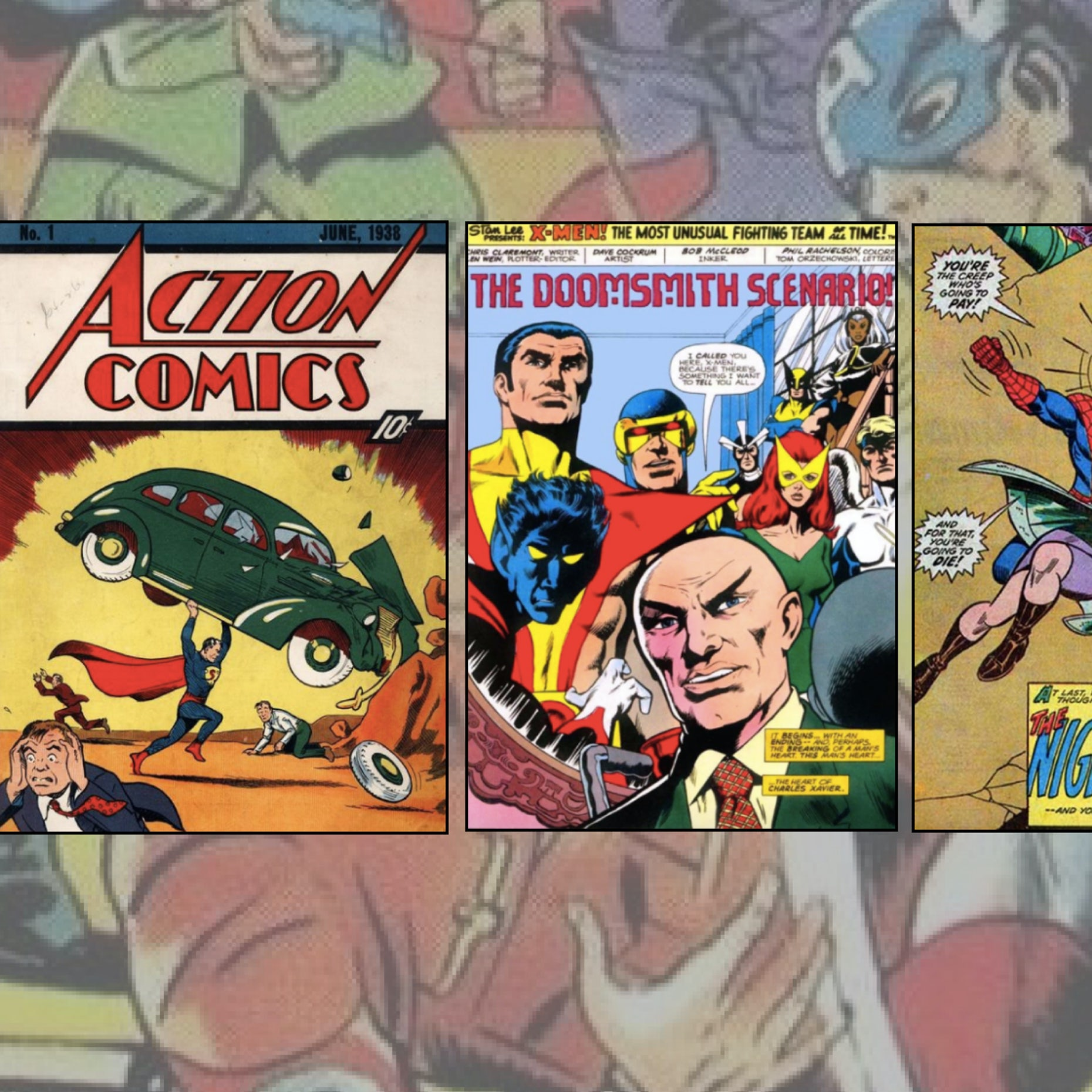 a258d953584d2 The amazing stylistic history of comic books - 99designs